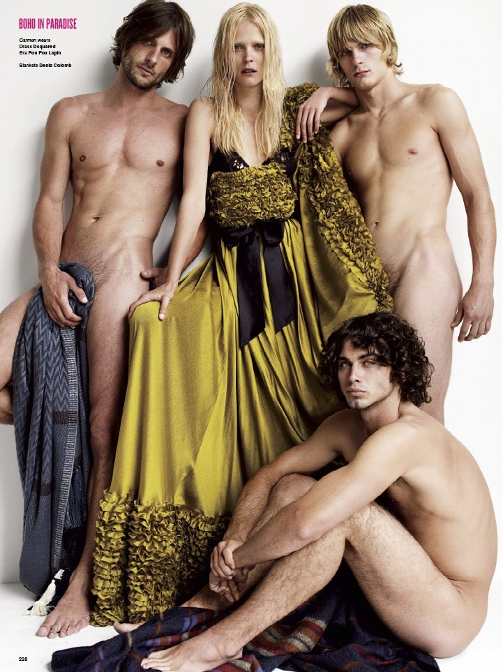 V Magazine _61 fall 2009 issue photo Mario Testino