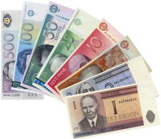 Estonian money