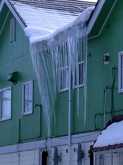 Icicle-of-death