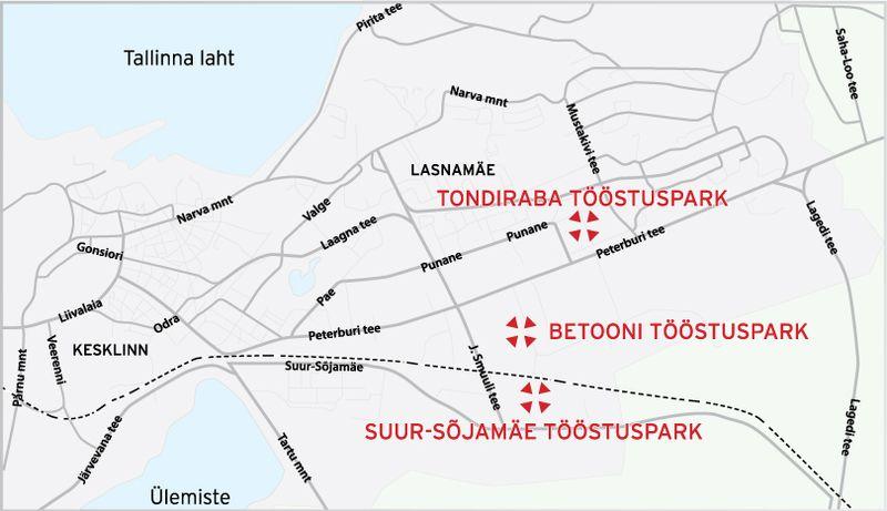 Toostuspark_kaart