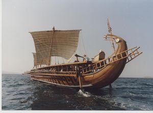 Mesopotamia sailboats   ShowMe