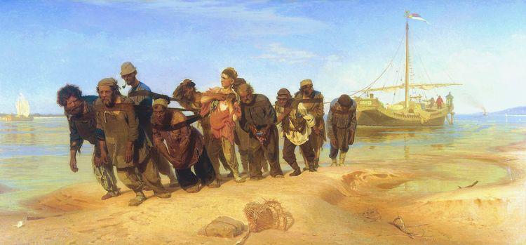 Ilya-Repin-volga-barge-haulers-1873