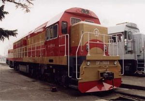 DF7G-E locomotive