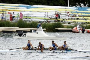 Estonia's quadruple sculls