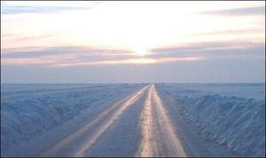 Lao - Kihnu ice road