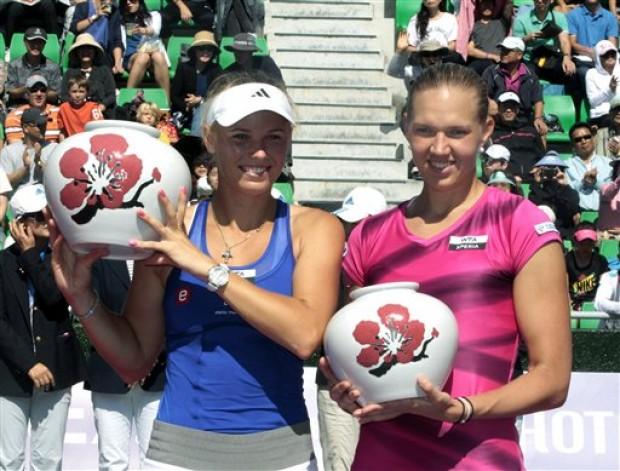 Wozniacki-Kanepi KDB Korea Open
