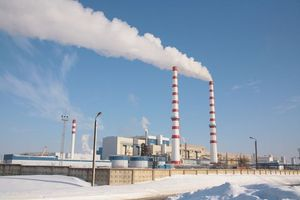 Strike of workers of Narva Power Stations