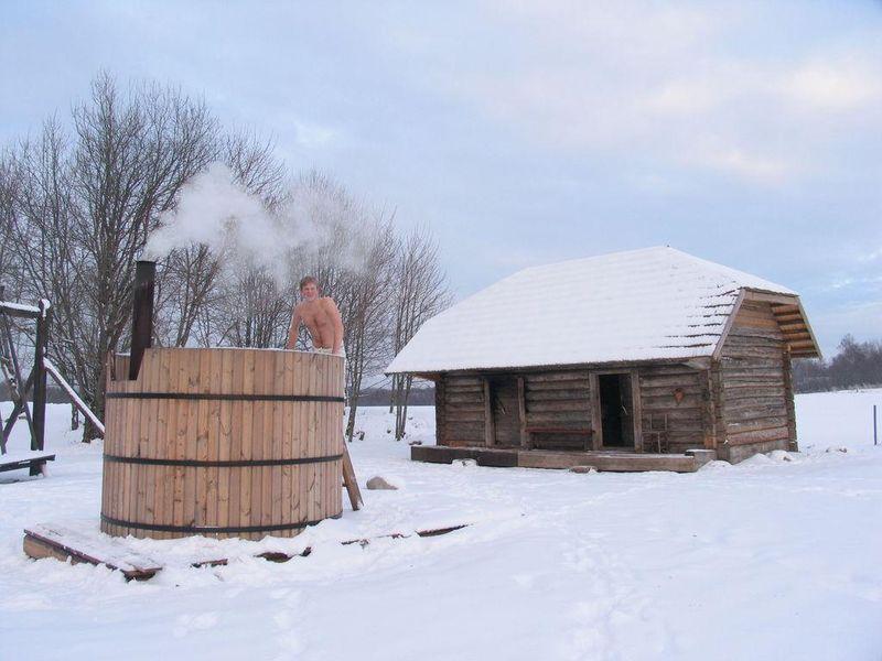 Smoke-sauna