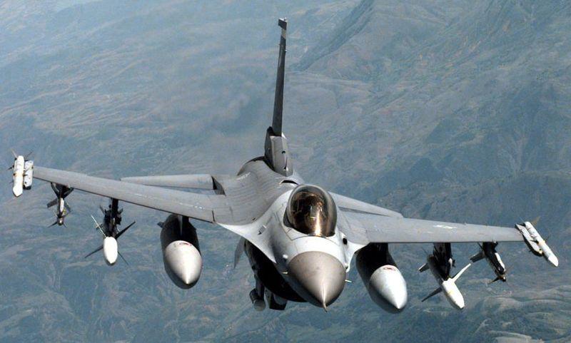NATO F-16 jet