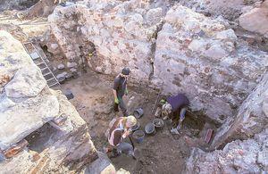 Arheoloogid Toomemägi Tartu