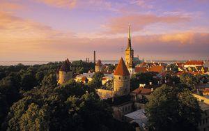 Tallinn medieval Old Town