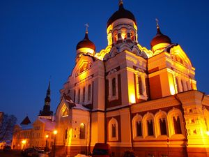 Alexander-Nevsky-Cathedral-Night-Tallinn-Estonia