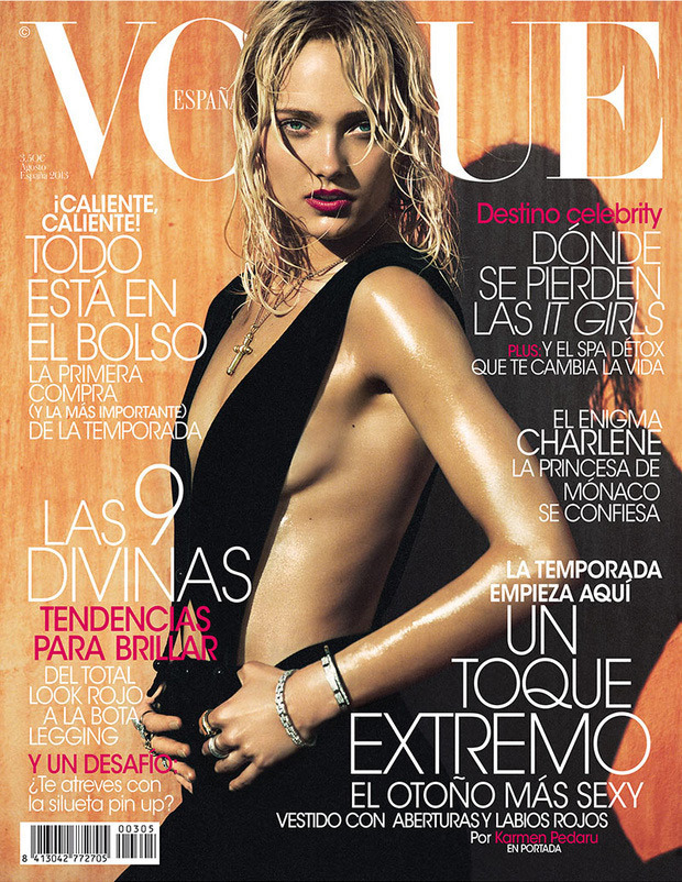 Karmen Pedaru - Vogue  Spain - August 2013