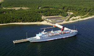 Saaremaa-harbour