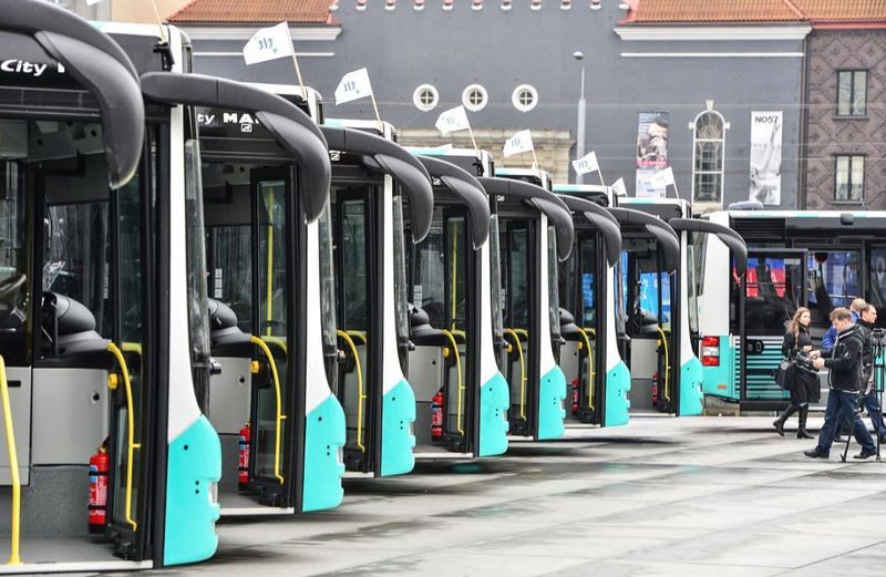 New Tallinn buses