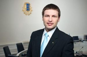 Estonian minister of justice