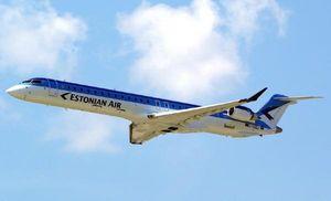 Estonian-Air-uus-Bombardier-testlennul