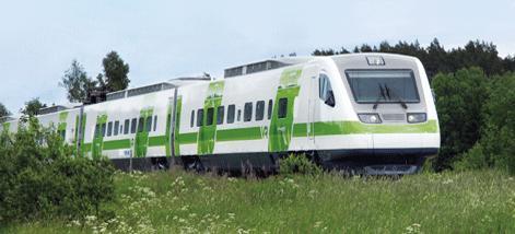 Helsinki-Tallinn-train