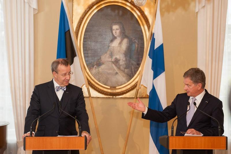 Toomas Hendrik Ilves and Sauli Niinistöga